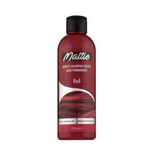 Mattie Mattie semi permanent  haarverf 210 ml red