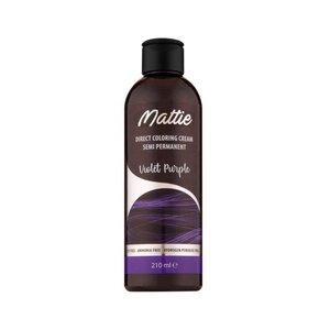 Mattie Mattie semi permanent haarverf 210 ml purple violet