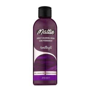 Mattie Mattie semi permanent haarverf 210 ml amethyst