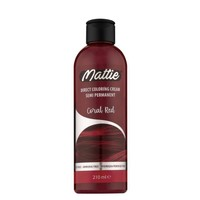 Mattie semi permanent haarverf 210 ml  Coral red