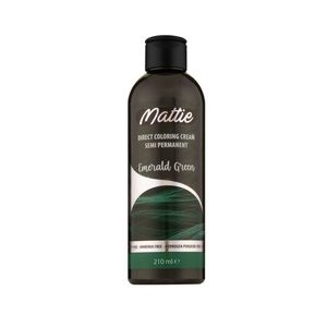Mattie Mattie semi permanent haarverf 210 ml Emerald Green