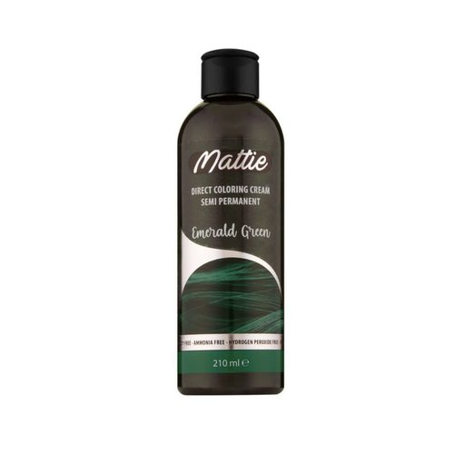 Mattie Mattie semi permanent haarverf 210 ml Emerald Green