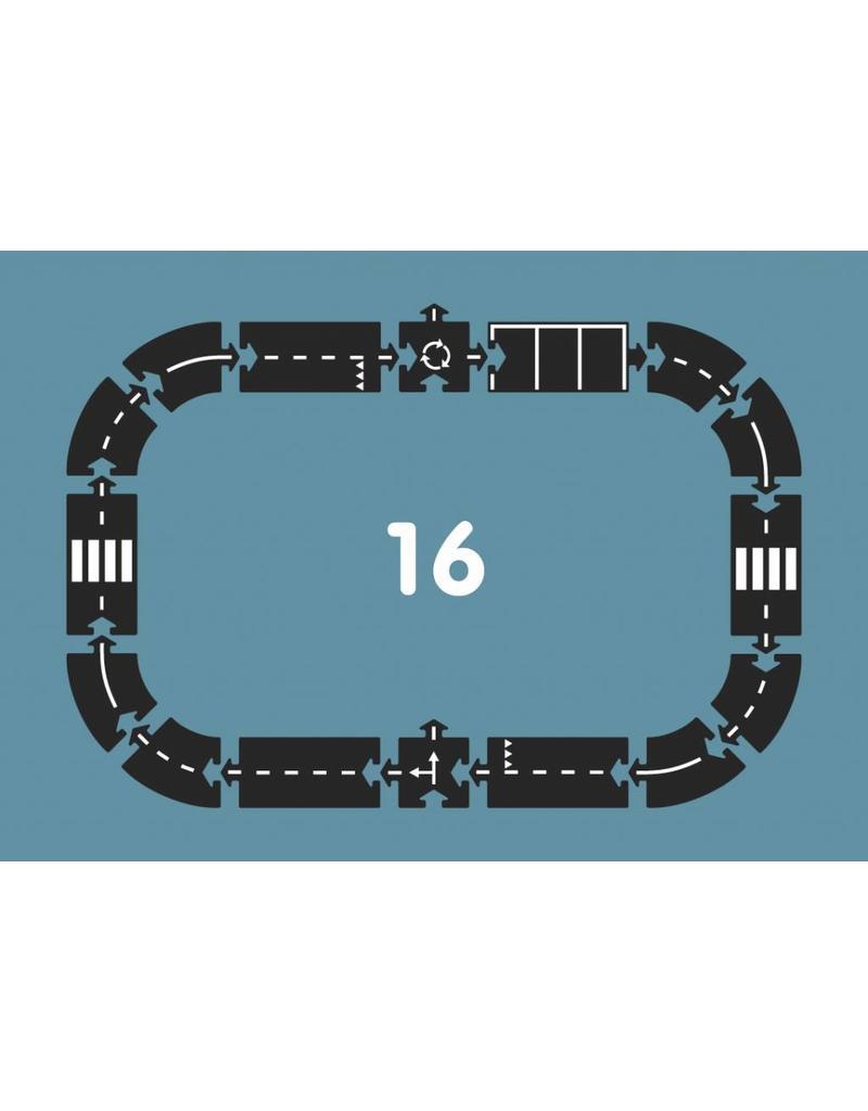 Way To Play Way to Play - Autoweg (16 stuks)