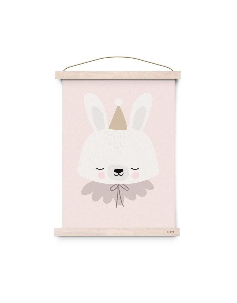 Eef Lillemor Eef Lillemor poster Circus Bunny - A3