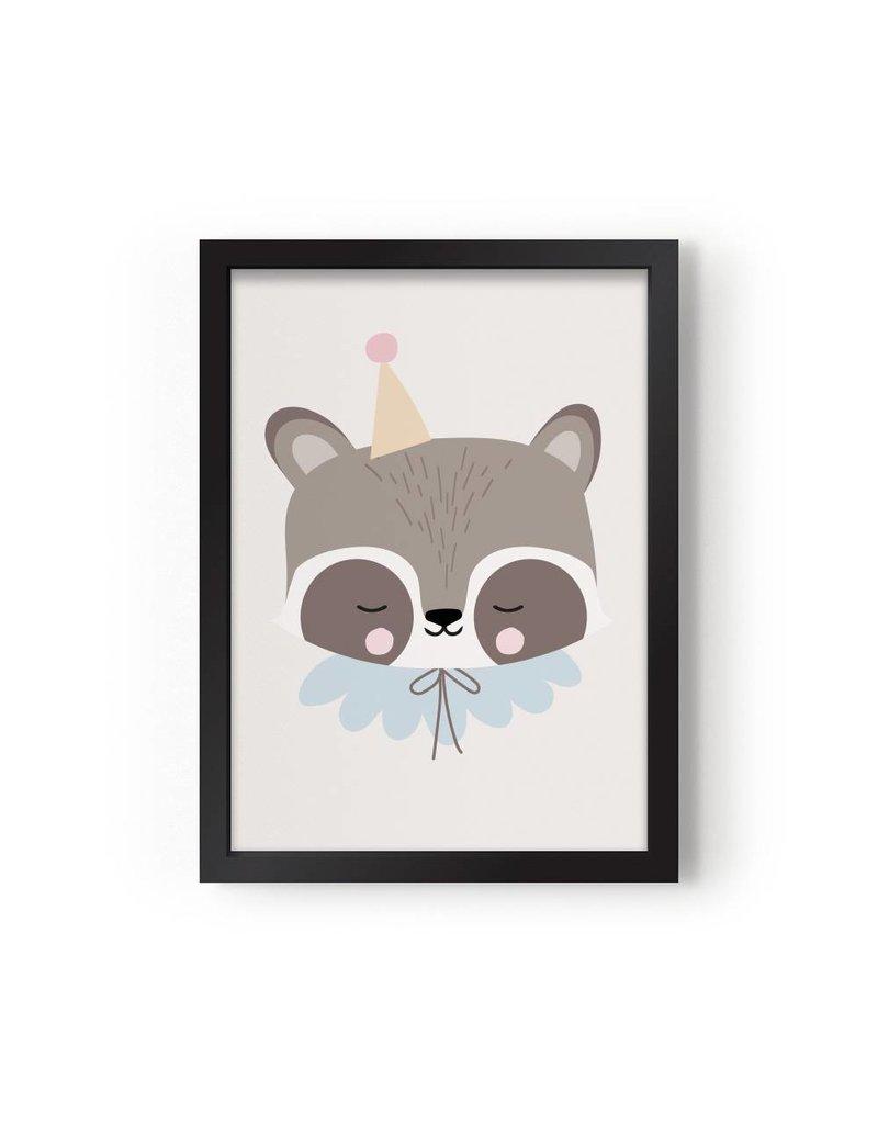 Eef Lillemor Eef Lillemor poster Circus Raccoon - A3