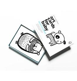 Wee Gallery Wee Gallery Art Cards - Huisdieren