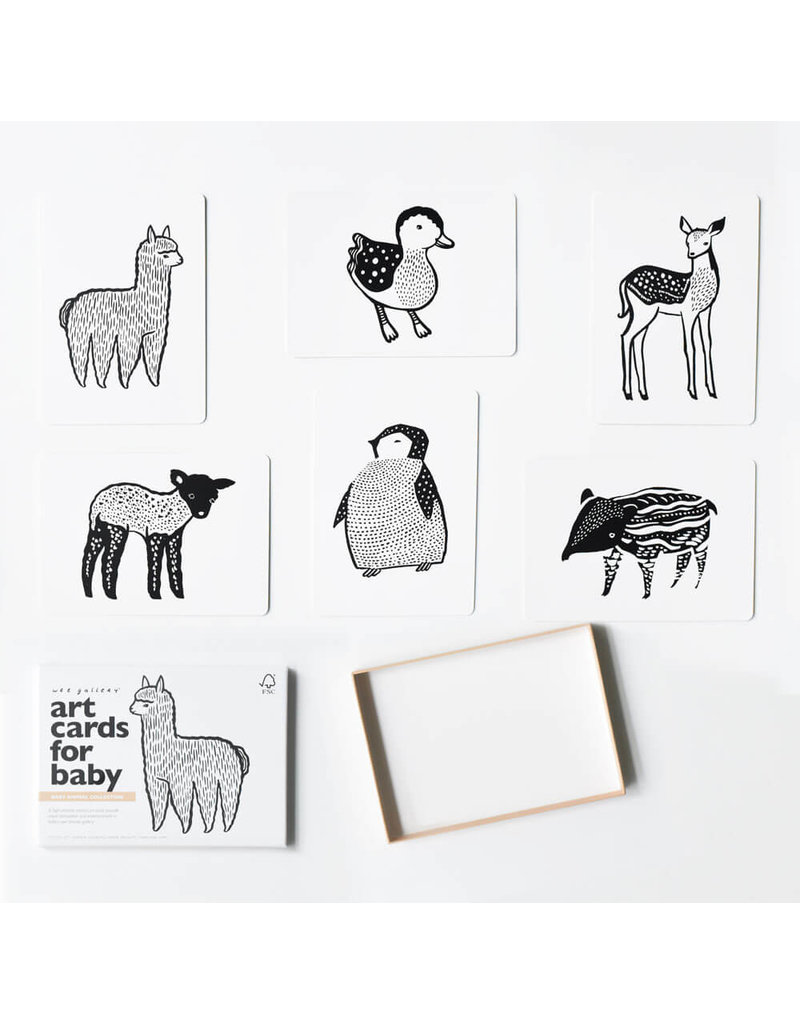 Wee Gallery Wee Gallery Art Cards - Baby Animals
