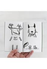 Wee Gallery Tekenboekje '32 ways to dress Woodland Animals' - Wee Gallery