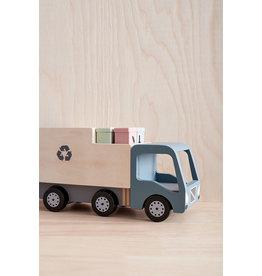 Kid's Concept Houten Vuilniswagen - Kid's Concept