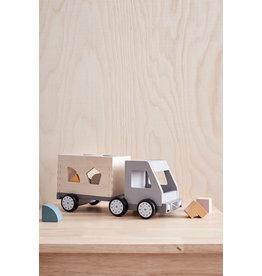 Kid's Concept Vrachtwagen Met Vormpjes - Kid's Concept