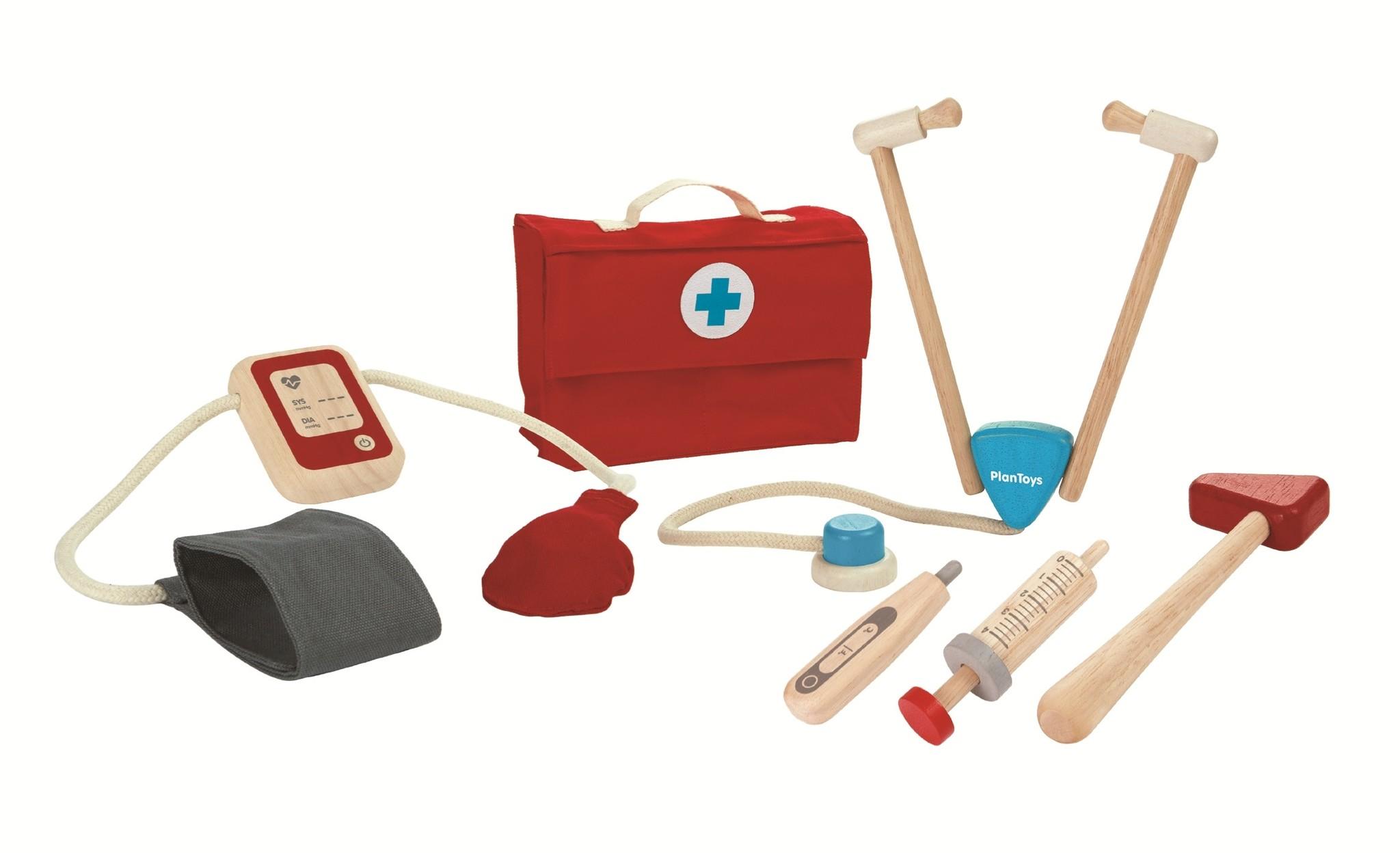 Speelgoed dokter set houten speelgoed