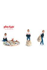 Play & Go Play & Go Opbergzak - Strepen Mosterdgeel