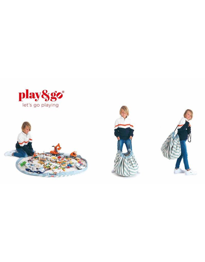 Play & Go Play & Go Opbergzak - Strepen Groen