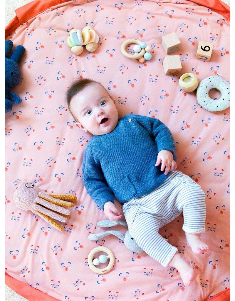 Play & Go Play & Go Baby Speelmat - Dierengezichtjes