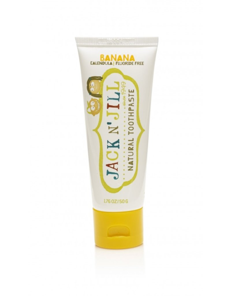 Jack N' Jill Organic Tandpasta Banaan - Jack N' Jill
