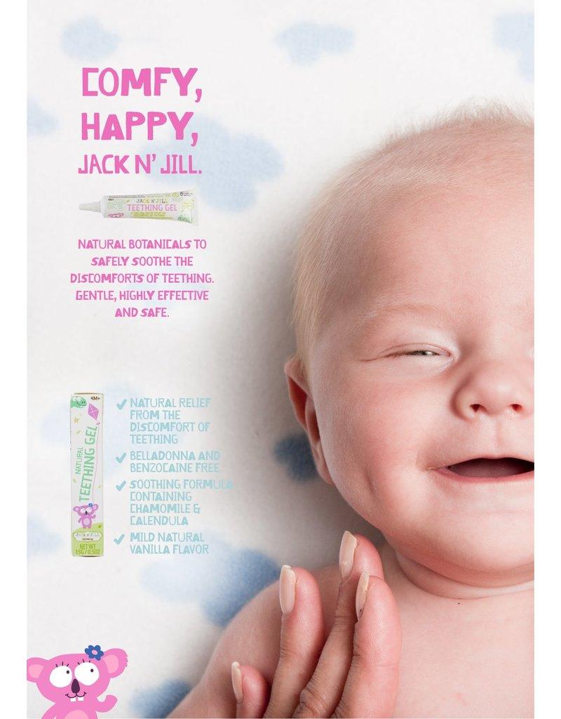 Jack N' Jill Organic Tandgel Baby - Jack N' Jill