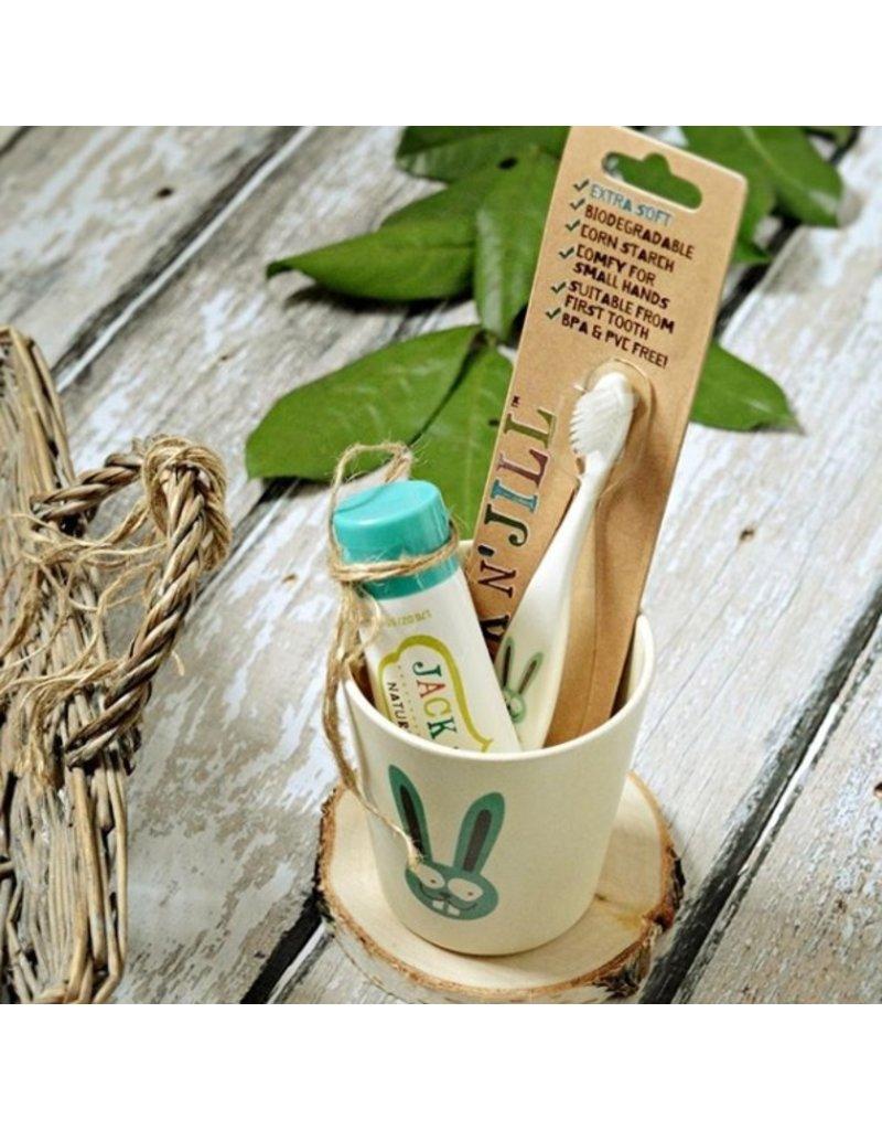 Jack N' Jill Organic Tandenborstel Konijn - Jack N' Jill