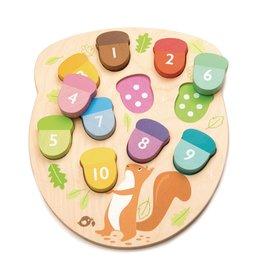 Tender Leaf Toys Leren Tellen Eikeltjes - Tender Leaf Toys
