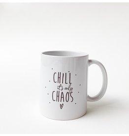 Minimou Koffietas Quote Chill Chaos - Minimou