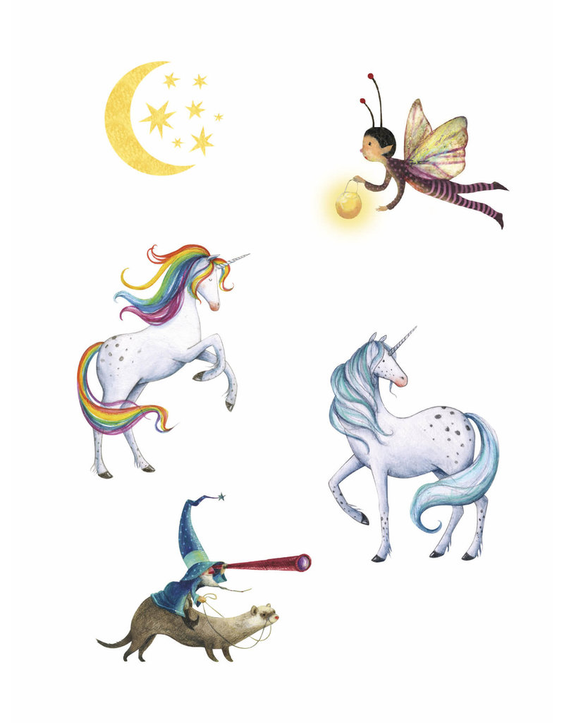 Londji Tattoo set Unicorn - Londji