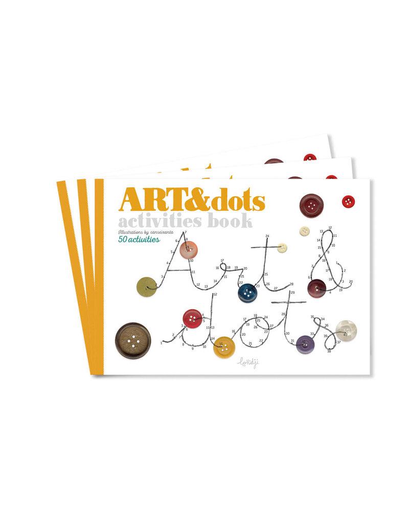 Londji Creaboekje Art & Dots - Londji