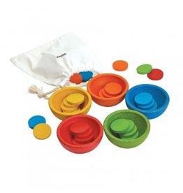 PlanToys Sorteer en Tel Cups - PlanToys
