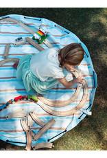 Play & Go Play & Go Buitenspeelmat/Opbergzak - Stripes