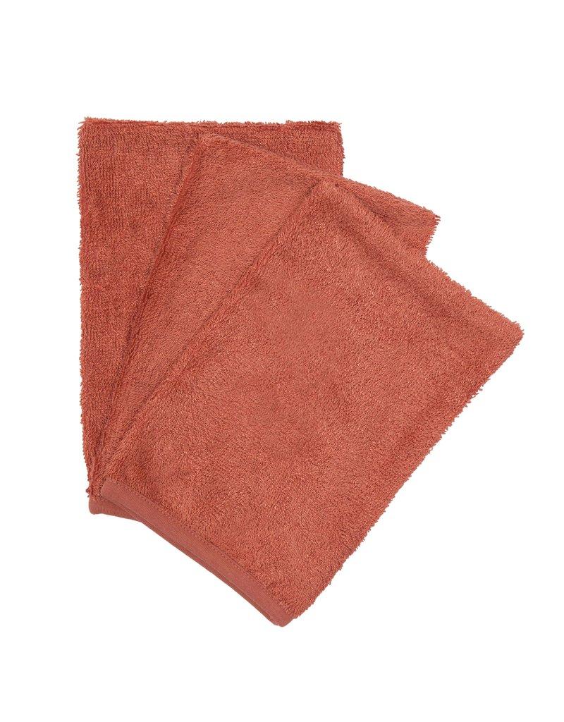 Timboo Timboo Washandjes (3 stuks) - Apricot Blush