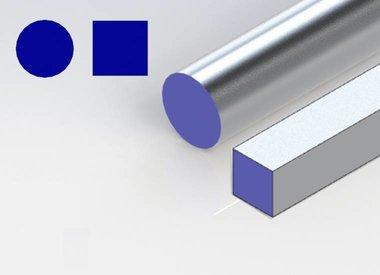 Alle aluminium staf