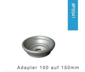 Prosup Adapter 100 auf 150mm Kugelschale