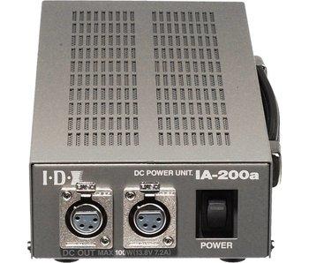 IDX IA-200a Netzteil - 100 W / 2x DC Out 13,8 V, XLR 4-polig