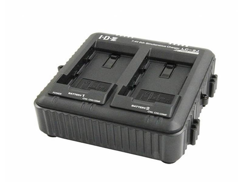 IDX LC-2J - 2-fach Ladegerät für IDX SSL-JVC50