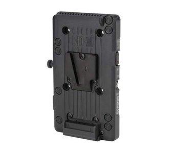 IDX P-VS2 - ENDURA V-Mount Platte mit 2 Pin D-Tap, Digi-View und Syncron