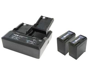 IDX PP-2A -2x SL-VBD 96 und lAdegerät LC-2A