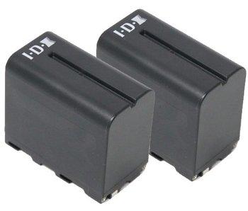 IDX SP-2A - Bundle mit 2 x B-7478S und 1 x LC-2A
