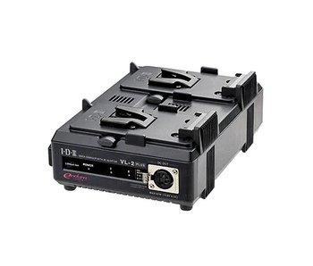 IDX VL-2Plus - 2 Kanal-Schnellladegerät für V-Mount Akkus