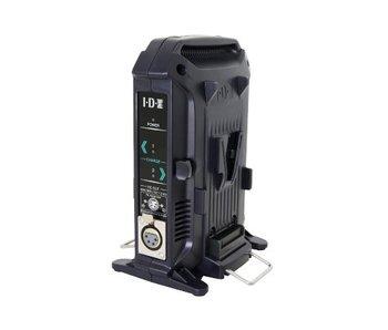 IDX VL-2X - 2-channel fast charger for V-mount batteries