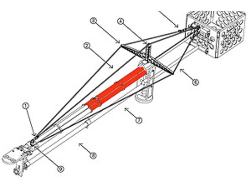 Microdolly Hollywood Jib extension kit 30 inch / 76cm zum bestehenden Jib System