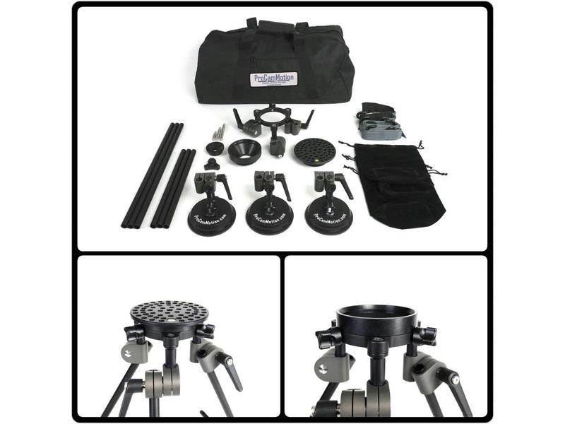 Microdolly Hollywood Microdolly Suction Mount Kit , #1487, Saugstativ Traglast bis 25kg empfohlen