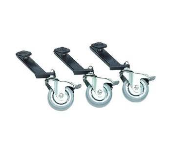 Steadicam Caster Wheel Set for American C-Stand (FGS-900074)