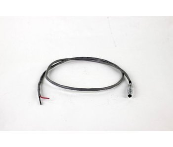 Steadicam 24V 3-pin Lemo Open End Power Cable #802-0046