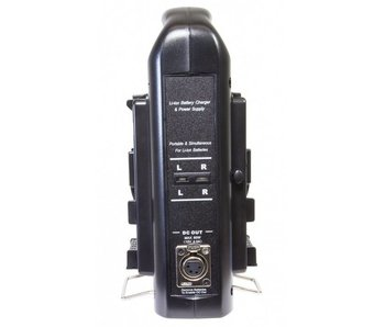 Axcom SM-CPVM2 Ladegerät für Sony V-Mount (2 Ladeschächte)