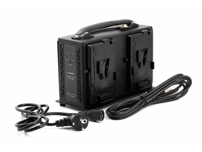 Axcom SM-CPVM4 Ladegerät für Sony V-Mount