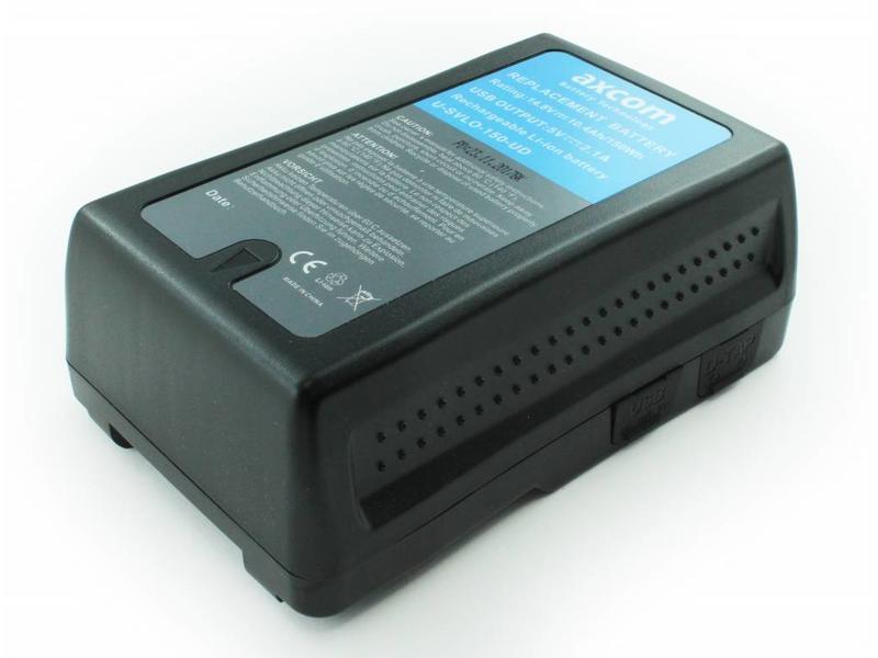 Axcom U-SVLO-150-DU Li-Ionen Akku für Sony V-Lock