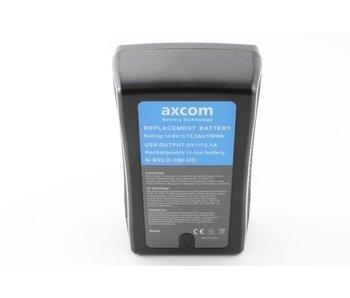 Axcom U-SVLO-190-DU - 190 Wh, 14,8 V / 13 Ah, V-Lock