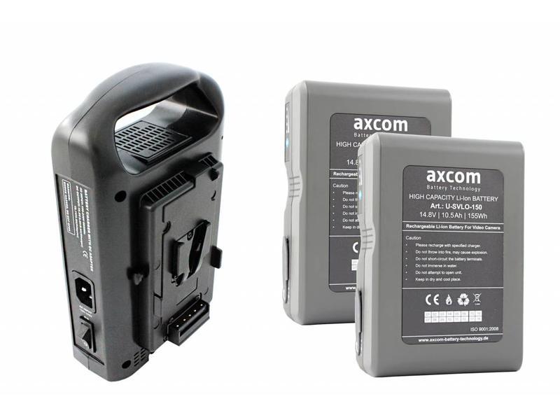 Axcom V-MOUNT BUNDLE 5 - SM-CPVM-2 + 2 x U-SVLO-150