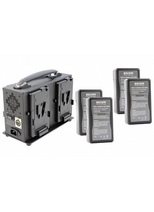 Axcom V-MOUNT BUNDLE 8 - SM-CPVM-4 - 2x U-SVLO-99