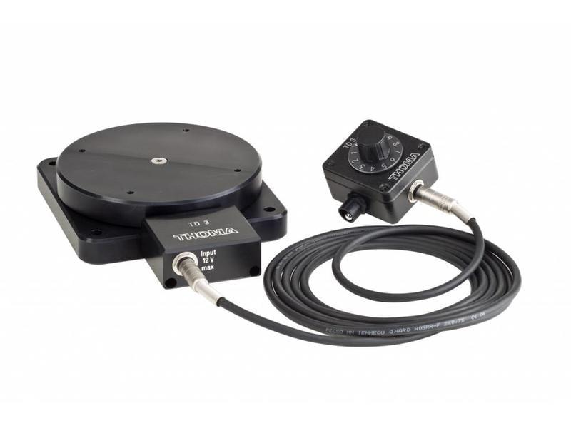 Gecko Cam stufenlos einstellbar, flacher Drehteller, nutzbar mit Akku  (optional), ideal für EB-Teams