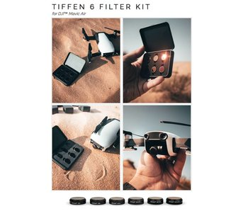 Tiffen Filters 6x Filter ND & ND/POLARIZER Kit for DJI MAVIC AIR