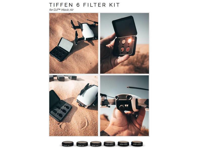 Tiffen Filters 6x Filter ND & ND/POLARIZER Kit for DJI MAVIC AIR